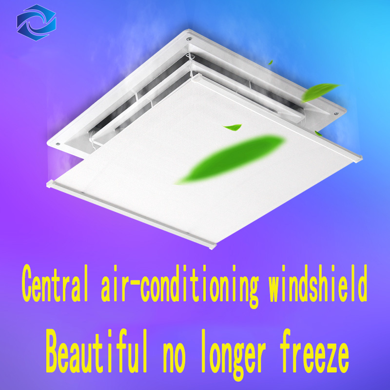 Office Home air conditioner Adjustable Windshield Baffle Shield Wind Guide Month Straight Prevent Direct Blow Bedroom Wind Shro|Air Conditioner Covers| |  - title=