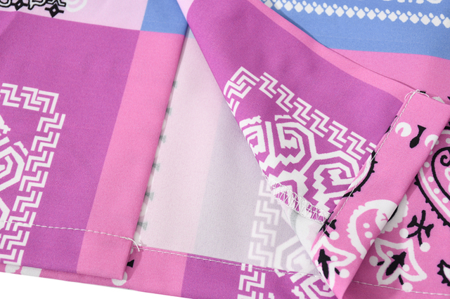 [EWQ] 2021 Spring Japan Patchwork Bandana Shirt Print Streetwear Shirts Long Sleeve Blouse Plus Size Tops Trendy Ladies Shirts 6
