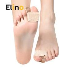 Elino Big Toes Separator Gel Bunion Corrector Bandage Hallux Valgus Toe Protector Foot Bone Straightener Feet Care Tool