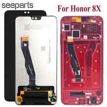"""חדש 6.5 """"עבור Huawei Honor 8X LCD תצוגת מסך מגע Digitizer Honor8X עבור Huawei Honor 8X LCD החלפת מסך חלקים + כלים"""