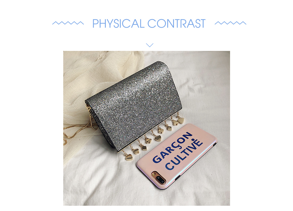 H2980ad3b8dde448aaacb6aa3bffc0f3ac - Women Sequin Glitter Evening Clutch Bag Ladies Sparkly Design Wedding Party Shiny Handbag Lady Chain Metal Shoulder Bag