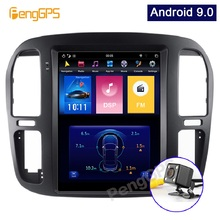 Android 9.0 Touchscreen Monitor for Toyota LC100 for Lexus LX470 1998-2002 GPS N