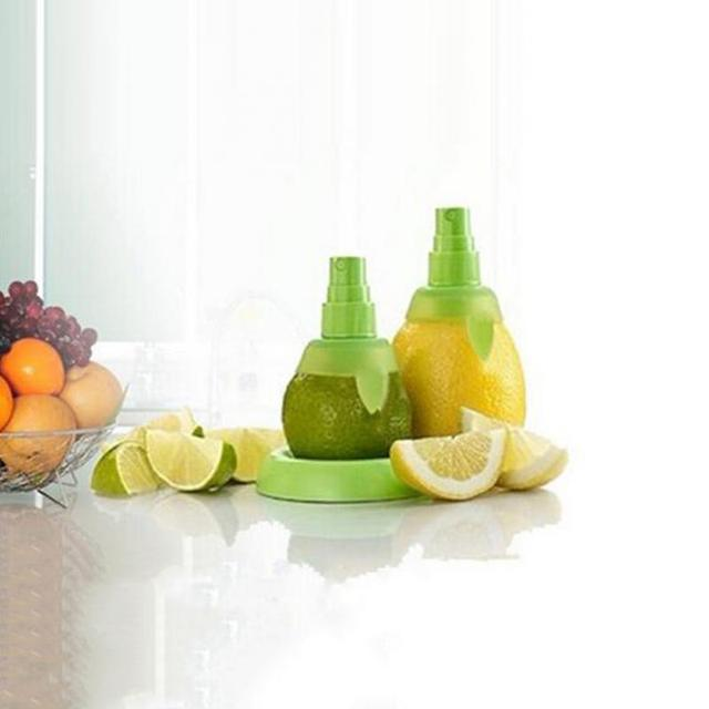 2pcs Lemon Juice Sprayer, Manual Orange Juice Citrus Spray for fresh flavor, Lemon Squeezer for Salad, Kitchen Gadgets