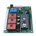 3 Axises плата управления 3018 CNC маршрутизатор GRBL USB Драйвер шагового двигателя DIY Лазерный гравер фрезерный контроллер гравировальной машины