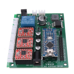 3 Axises Control Board 3018 CNC Router GRBL USB Stepper Motor Driver DIY Laser Engraver Milling Engraving Machine Controller