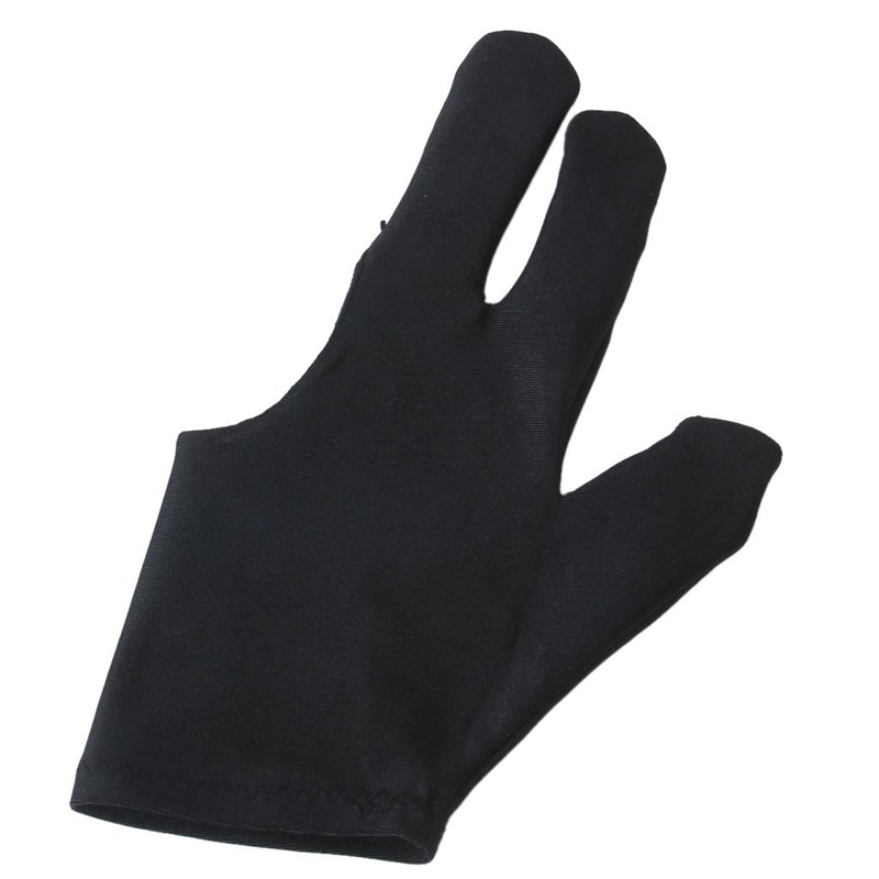 Professional Billiards Left Hand Three Fingers Open Fingertip Glove