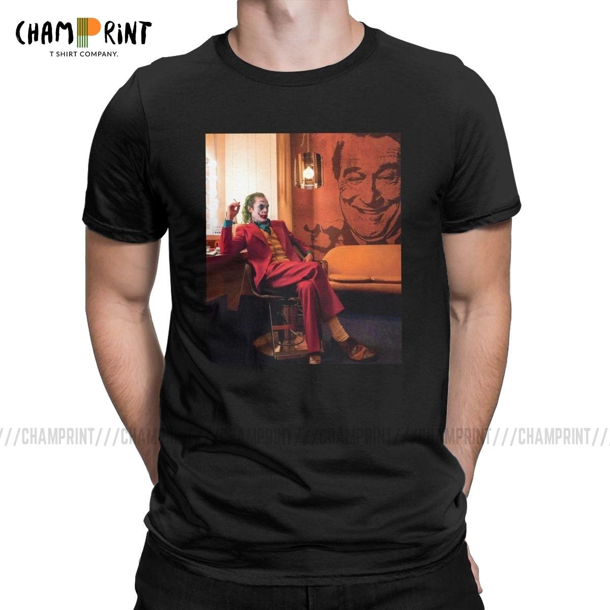 Funny Awesome Joker T-Shirt For Men Cotton T Shirt Joaquin Phoenix 2019 Movie Arthur Fleck Clown Short Sleeve Tees Summer Tops