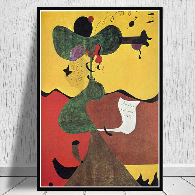 Details about  /27x40 24x36 Poster Joan Miro Modern Art Paintings Abstract Picture Retro C-4698