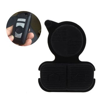 1Pc Replacement Remote Key Keyless Buttons 3 Button Pad Fit For BMW E38 E39 E36 28TB image
