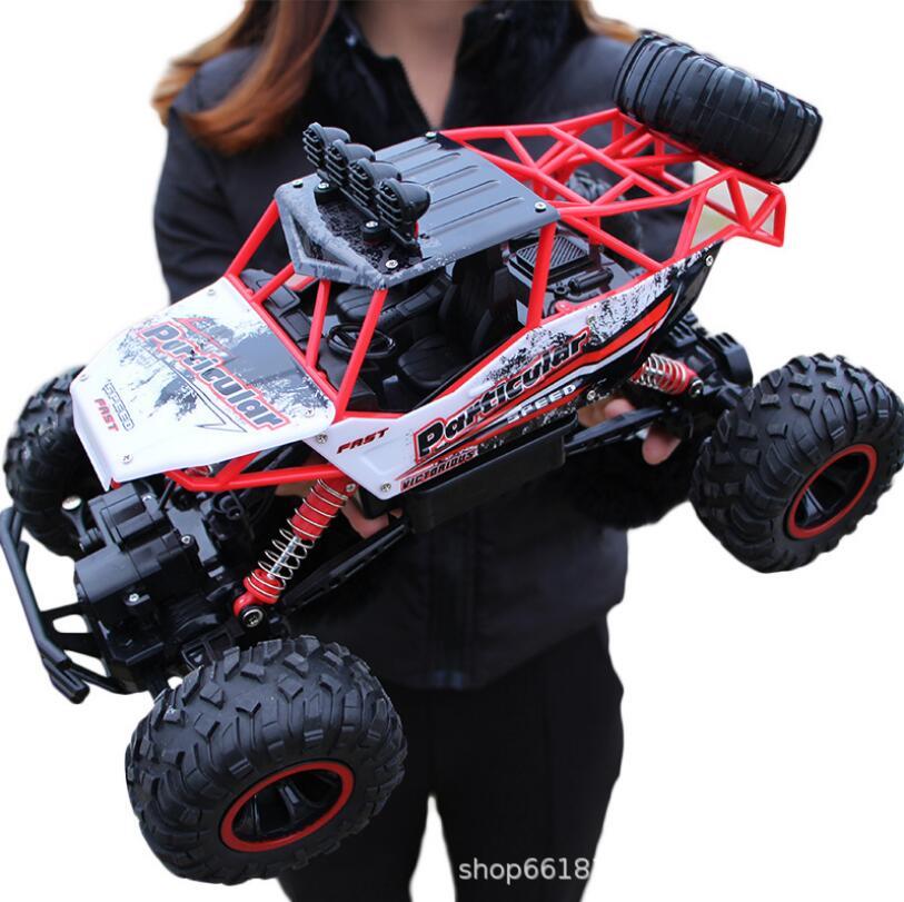 37 centimetri 1:12 RC Auto 4WD arrampicata Auto 4x4 Motori A Doppia Drive Bigfoot Auto Modello di Controllo Remoto di Sconto Road Del Veicolo giocattoli Per I Ragazzi I Bambini - 2