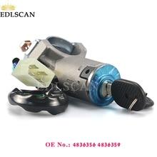 EDLSCAN переключатель зажигания 4836356 4836359 для ежедневного 1990-2000 Замок зажигания цилиндр 4836356 4836359