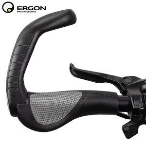 Image 2 - Uchwyty do kierownicy roweru górskiego ERGON GP1 GP3 GP5 uchwyt do mocowania roweru uchwyt do mocowania uchwytu ergonomia gumowa blokada rowerowa
