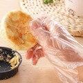 В переменного тока, 50-1000 шт. одноразовые Пластик прозрачные перчатки Еда экологически чистые перчатки для Кухня Пособия по кулинарии engineering ...