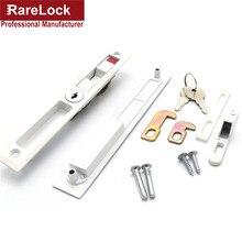 Rarelock раздвижные двери замок зеленый красный показ с латунные ключи для ванной Женщины Сумка магазин дверной замок MMS227 dd