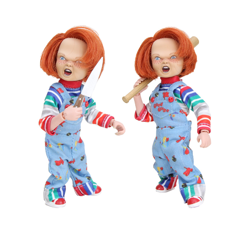 NECA Chucky Child's Play Good Guys Ultimate Chucky doll Action Figure Collectible Model Toys 12cm