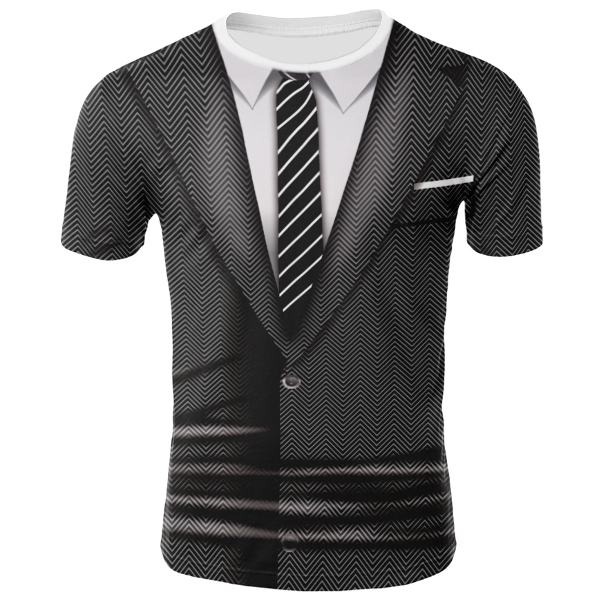 3D Printed Funny Men T-shirt Casual Short Sleeve O-neck Fashion  T Shirt Men Tees Top High Quality Tshirt  Men's Clothing