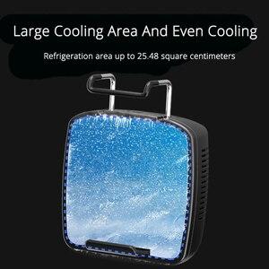 Image 3 - الهاتف المحمول برودة مروحة التبريد ل IOS آيفون أندرويد هواوي سامسونج الهاتف الذكي PUBG لعبة حامل لوحة التبريد