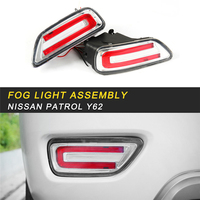 Rear Fog Light Lamp LED Light Assembly Exterior Auto Replacement Parts for Nissan Patrol Y62 Car Styling
