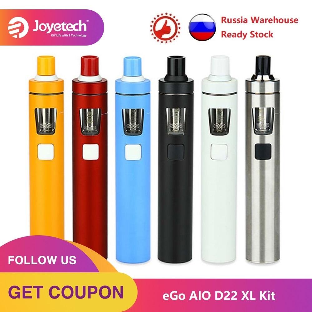 Original Joyetech EGo AIO D22 XL/eGo Aio D22 Electronic Cigarette Kit 1500mah/2300mAh Built-in Battery Ego Aio XL All-in-one Kit