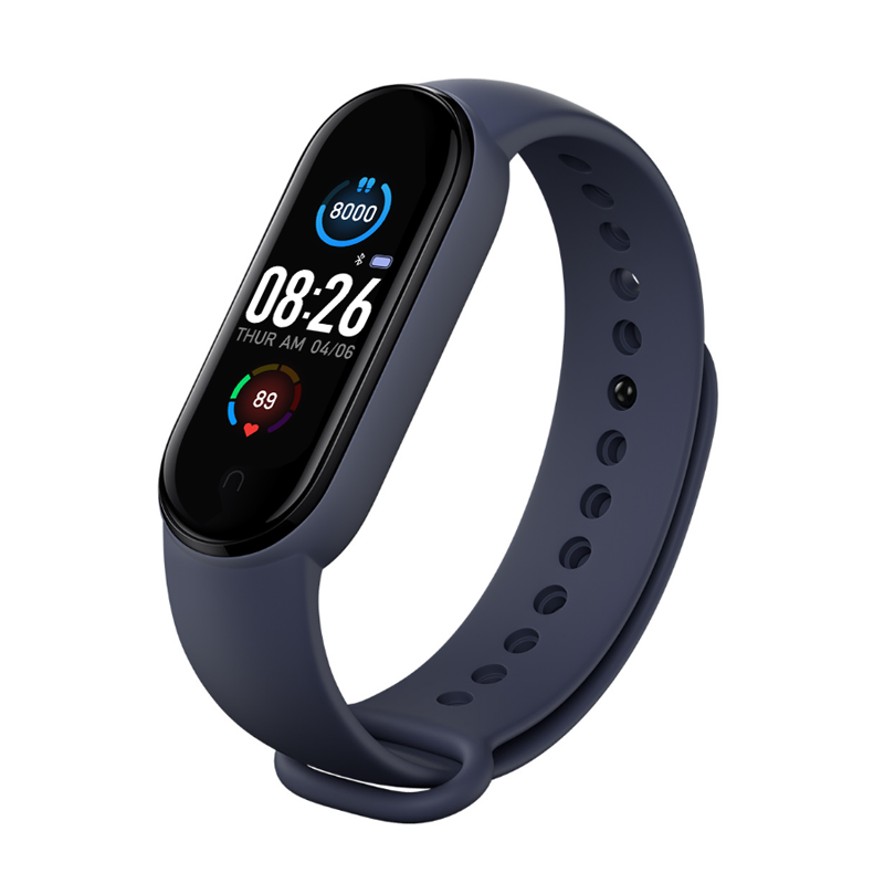 M5 Men Women Smart Watch Sport Smartwatch Heart Rate Blood Pressure Monitor Fitness Bracelet for Android/IOS 6