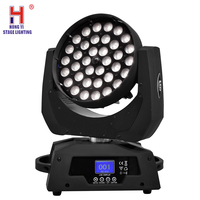 led wash dmx zoom beam 36x12w rgbw led disco ball moving head led spot lighting