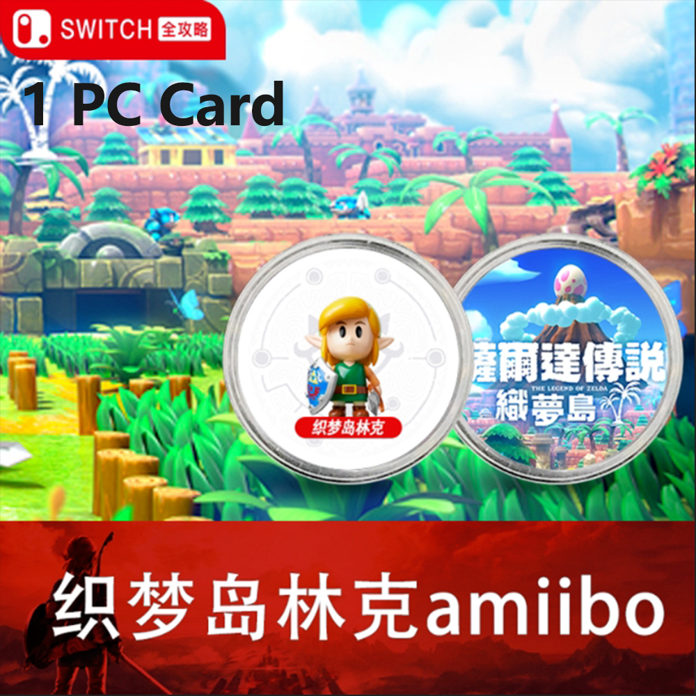 The Games <font><b>card</b></font> of <font><b>amiibo</b></font> Compatible Zelda 23 <font><b>NFC</b></font> Round <font><b>Card</b></font> Link Awakening DX the Legend of Breath of the wild NS Nintend Switch image