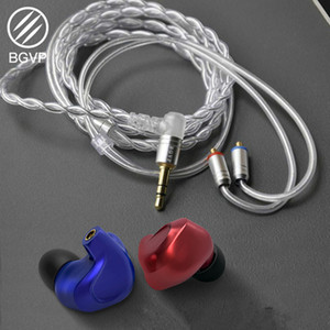 Image 5 - NEW BGVP DMG 2DD+4BA Hybrid In Ear Earphone Metal High Fidelity Monitor With Detachable MMCX Cable And Three Nozzles