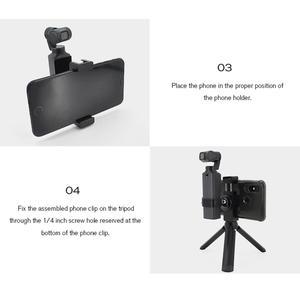 Image 4 - STARTRC el Tripod Metal telefon tutucu yuvası braketi FIMI PALM el Gimbal kamera genişletme aksesuarları