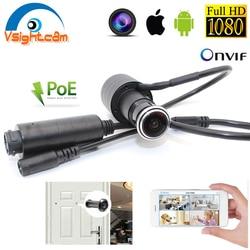 XMEYE видео аудио 1080P HD H.265 P2P 2,1 мм объектив рыбий глаз видеонаблюдения Безопасности Глазок дверной глазок POE дверной глазок камера видеонаблюд...