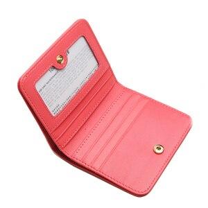 Image 5 - EMMA YAO orijinal deri cüzdan kadın moda tasarımcısı cüzdan kadın