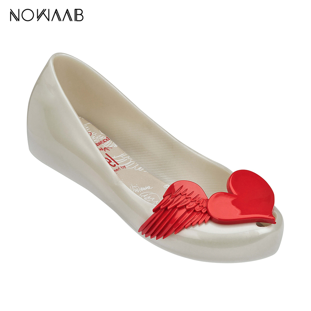 Sandals Flat Jelly-Shoes New