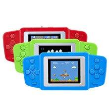 """Wysokiej jakości Mini 8 Bit 2.5 """"Cal przenośna konsola do gier gracze przenośna gra wideo Retro zabawki dla chłopca urodziny prezenty 268 Classi"""