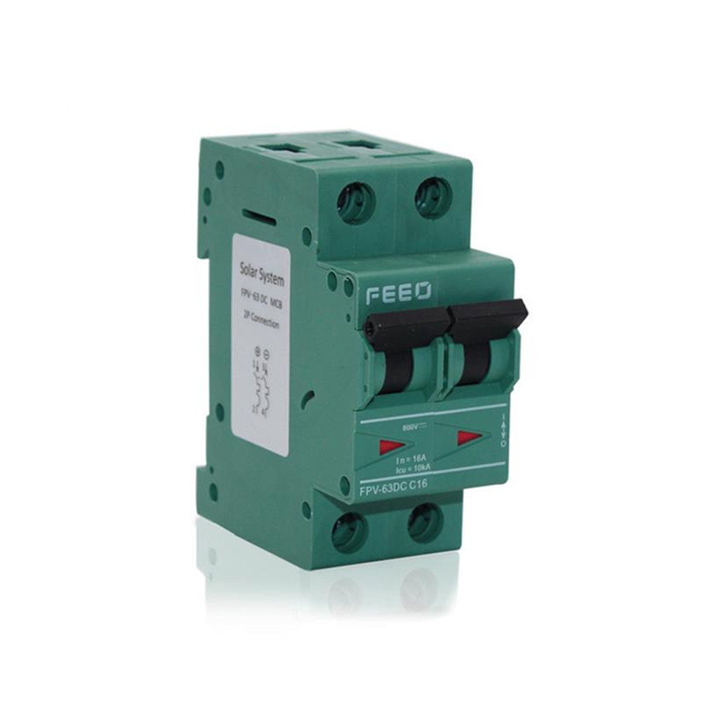 PV Solar DC MCB 6KA 4P 250V Mini Circuit Breaker 6A 10A 16A 25A 32A 40A 50A 63A