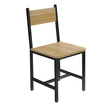 Contemporary And Contracted Simple Wooden Chair Back Home Hotel  Cafe Fast-food Restaurant Dining  Assembly