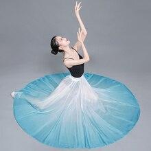 Flamenco Skirt For Adult Fairy Long Skirt Classical Dance Costume Spanish Bullfight Dance Wear Stage Costume Gypsy Dress
