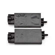 Compuerta de tinta UV DX5 para impresora con conector, 10 unidades, para Mimaki JV33 JV5 CJV150, Epson XP600 TX800, trazador con solvente ecológico, tinta ultravioleta para impresora dumper