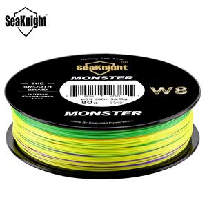 Image 4 - SeaKnight W8 300M 500M Multi Color Braid Fishing Line 8 Strands PE Lines 100% UV layer Low Extremely For Saltwater 20 100LB