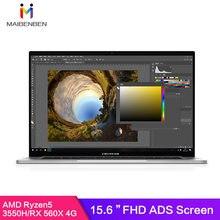 MAIBENBEN-pc portable Artbook A ZMDREAM 15.6 pouces, résolution 1920x1080 annonces Ryzen5 3550H, SSD RX 560X PCIE, apprentissage en ligne, CNC