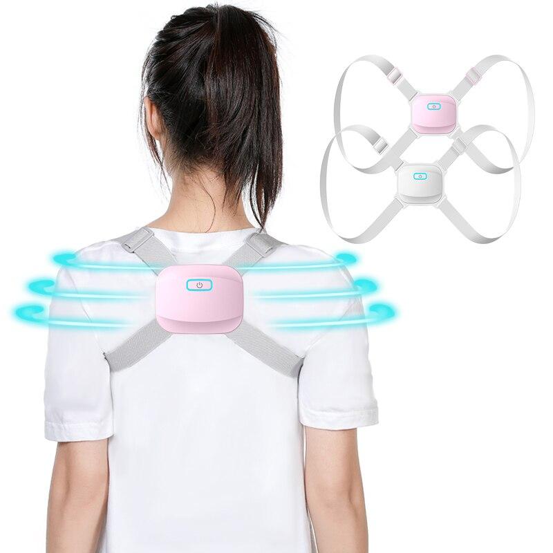 Intelligent Posture Corrector Back Posture Trainer Clavicle Spine Shoulder Correction Smart Tips Adjustable Length Back Support