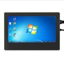Raspberry Pi-pantalla táctil capacitiva IPS HD de 7 pulgadas, pantalla LCD de 7 pulgadas con carcasa de soporte para Raspberry Pi 4B/3B, 1024x600
