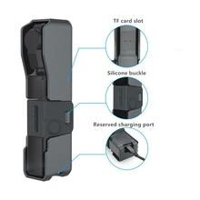 جيب كاميرا صندوق تخزين هارد شل المحمولة مع شريط للرسغ الحبل لملحقات كاميرا النخيل فيمي