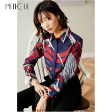 Fall Women Printed Blouse
