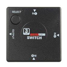 Splitter 3-Port 1080P Adaptor Switcher Vedio DVD HDTV PS3 Hdmi-Compatible High-Definition