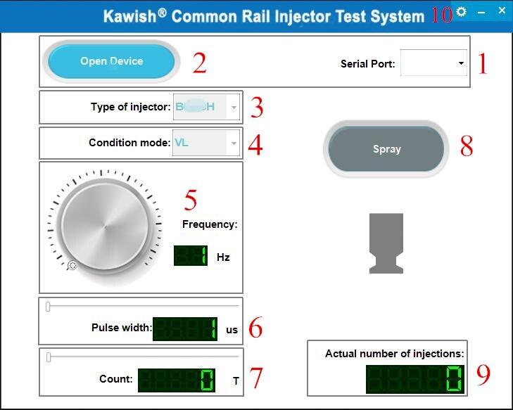 Купить с кэшбэком 2020 Promotion New Arrival! Kw608 Multifunction Diesel Common Rail Injector Tester Piezo Injector Tester Usb Injector Tester