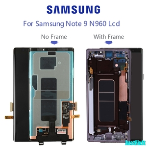 Image 5 - ЖК дисплей с сенсорным экраном для Samsung Galaxy Note 9, 100% оригинальный дигитайзер в сборе N960 N960F N960D N960DS, ЖК дисплей с рамкой