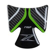 fasp z900 genuine carbon fiber Key pad Fuel tank cap  sticker For kawasaki motorcycle sports car