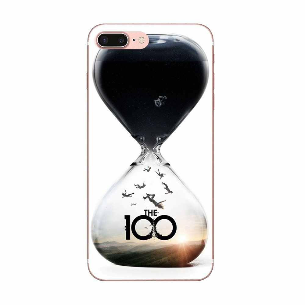 TPU クールベスト Apple の iPhone 4 4S 5 5C 5S 、 SE 6 6S 7 8 プラス X XS 最大 XR テレビシリーズ 100 シーズンポスター