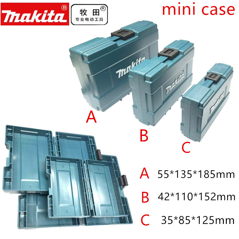 Makita  MINI Tool Box Case Tools Suitcase MakPac Connector  Storage Box B-62066 B-62072 B-62088 Toolbox