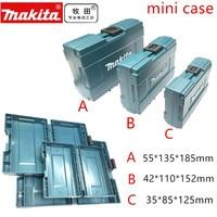 Makita mini caixa de ferramentas caso mala makpac conector caixa de armazenamento B-62066 B-62072 B-62088 caixa de ferramentas
