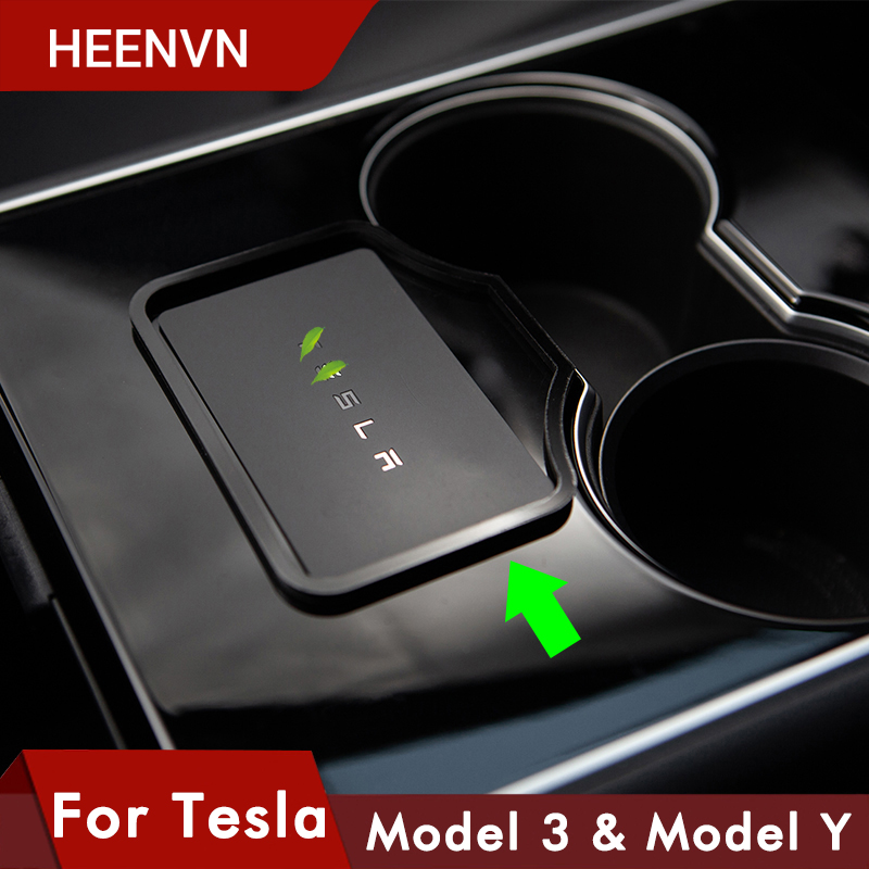 Heenvn Model3 Car Engine Start Card Key Trim Frame Holder Fixer Limiting Sticker For Tesla Model 3 Y Accessories Three 2020 Stowing Tidying Aliexpress